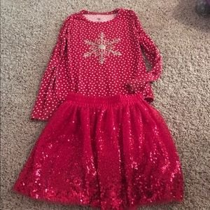Christmas Girls Size 8/10